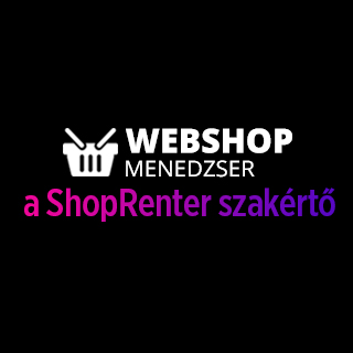 WebShopMenedzser - a ShopRenter szakértő