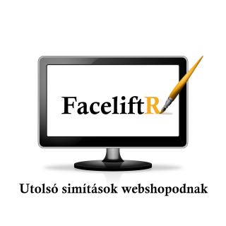 Faceliftr – az utolsó simítások Shoprenteres webshopodnak